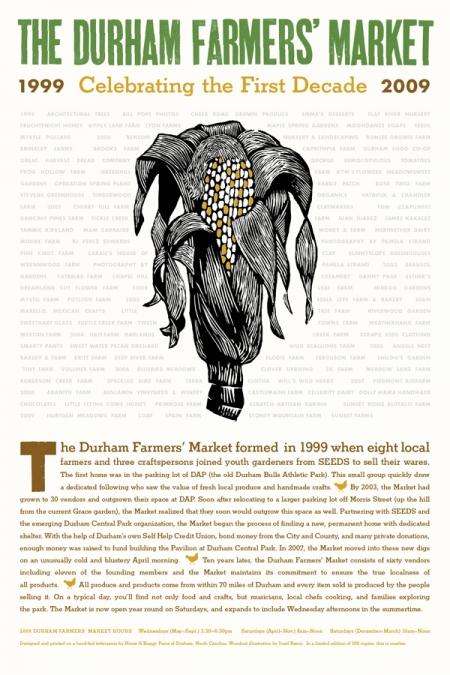 Farmers Market broadside