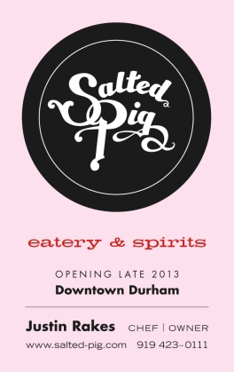 Salted Pig bus card pink