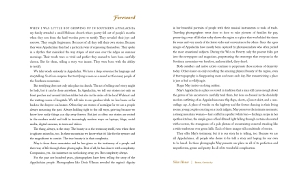 Foreword spread